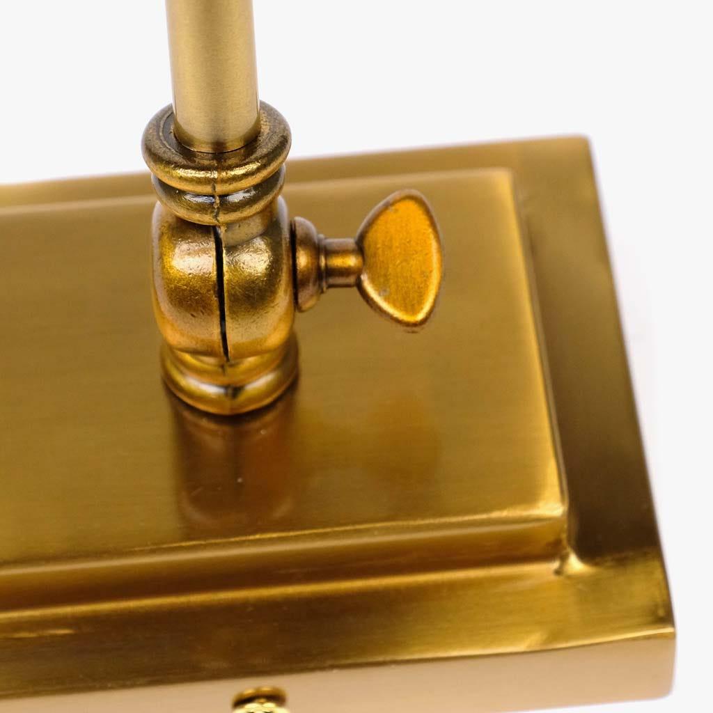 Aplique de parede Barra ouro 43 cm