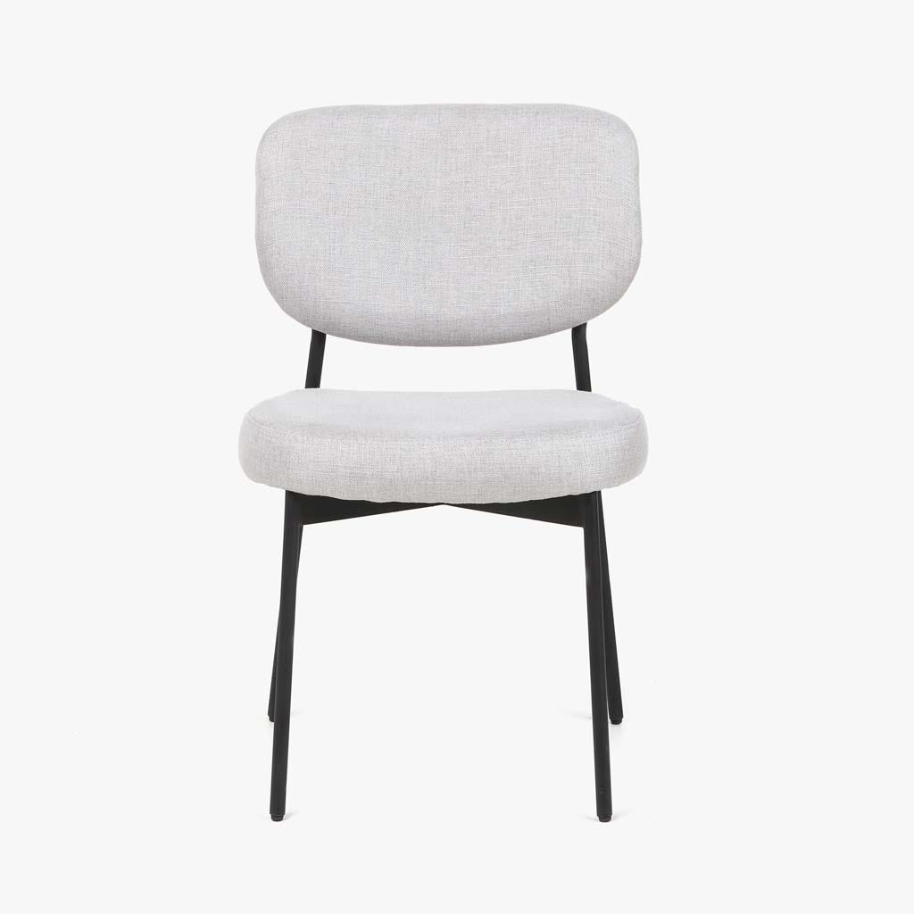 Cadeira Akita Cinza 51x53x82,5 cm