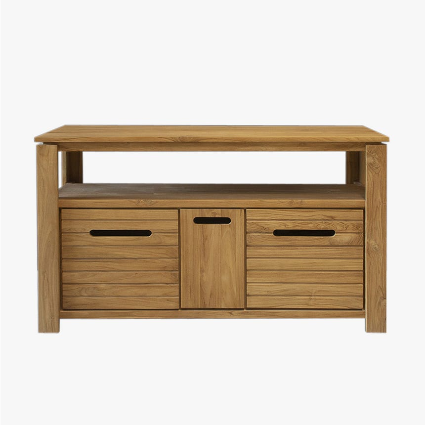 Mueble de baño Lido 140x55x80 cm