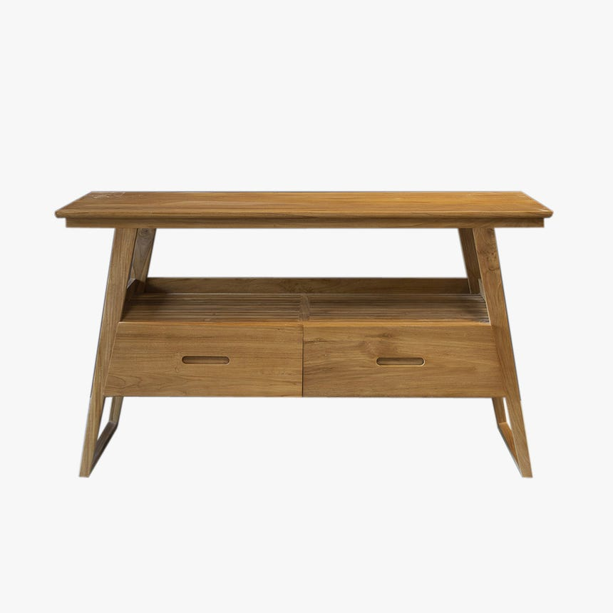 Mueble de baño Malibu 140x50x80 cm