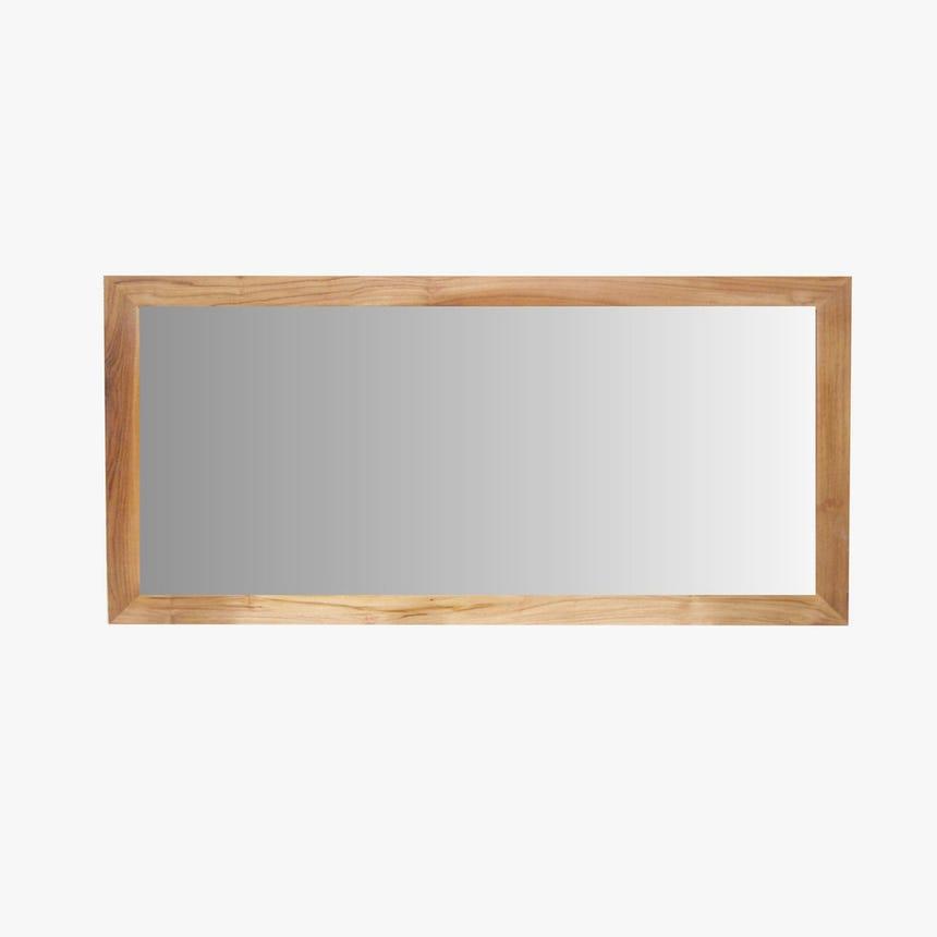 Espelho Madeira Teca 140x70 cm