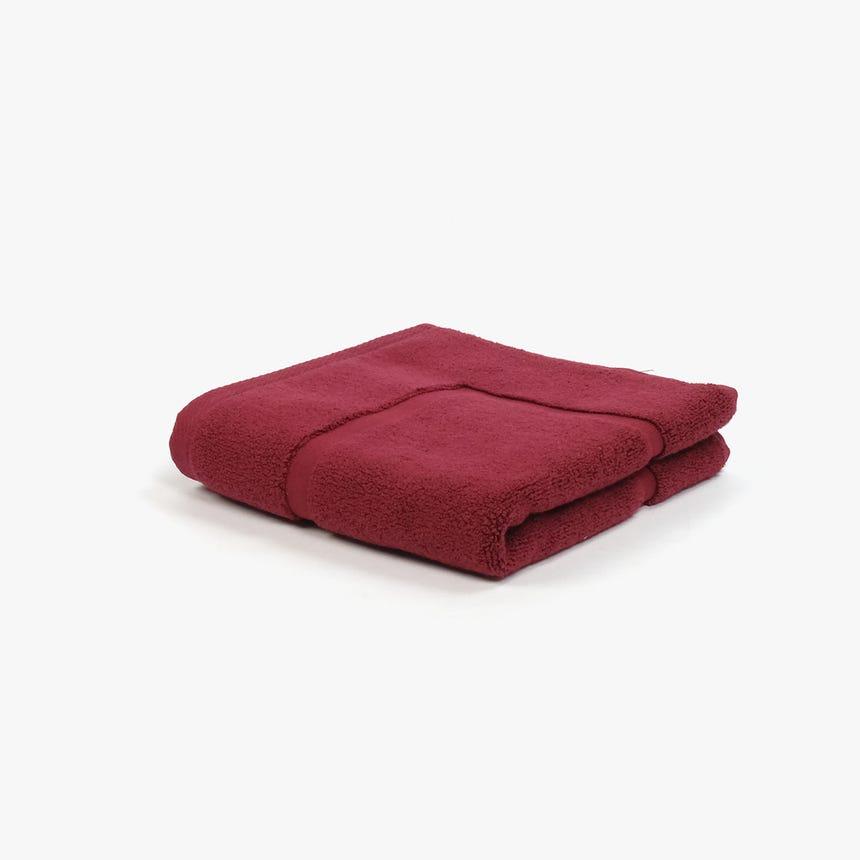 Saída de banho 5BathStars Vermelho 50x70 cm
