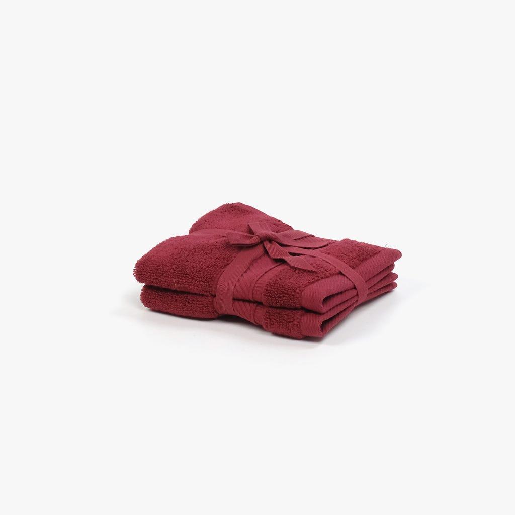 Toalha de Banho 5BathStars Vermelho 30x30 cm