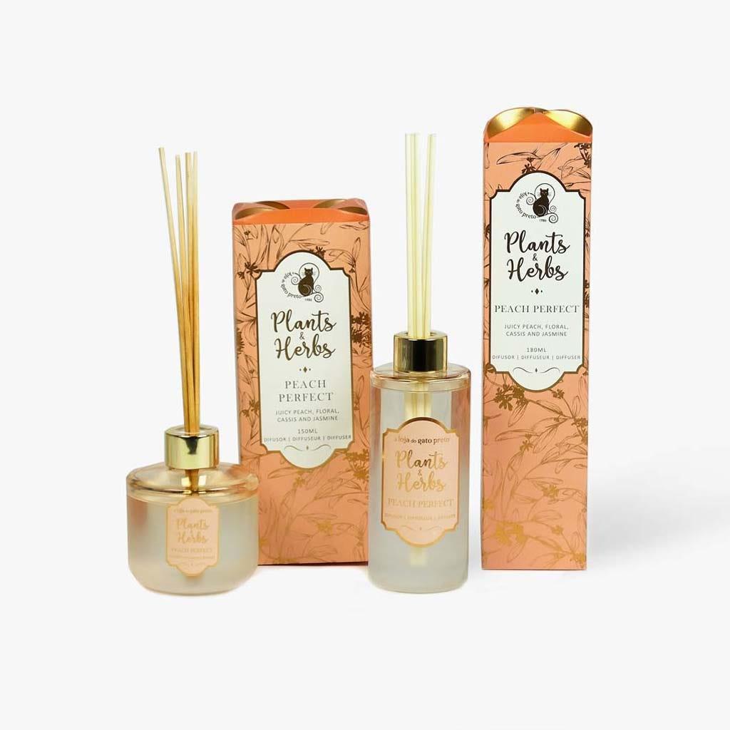 Difusor Plant&Herbs Peach 180 ml