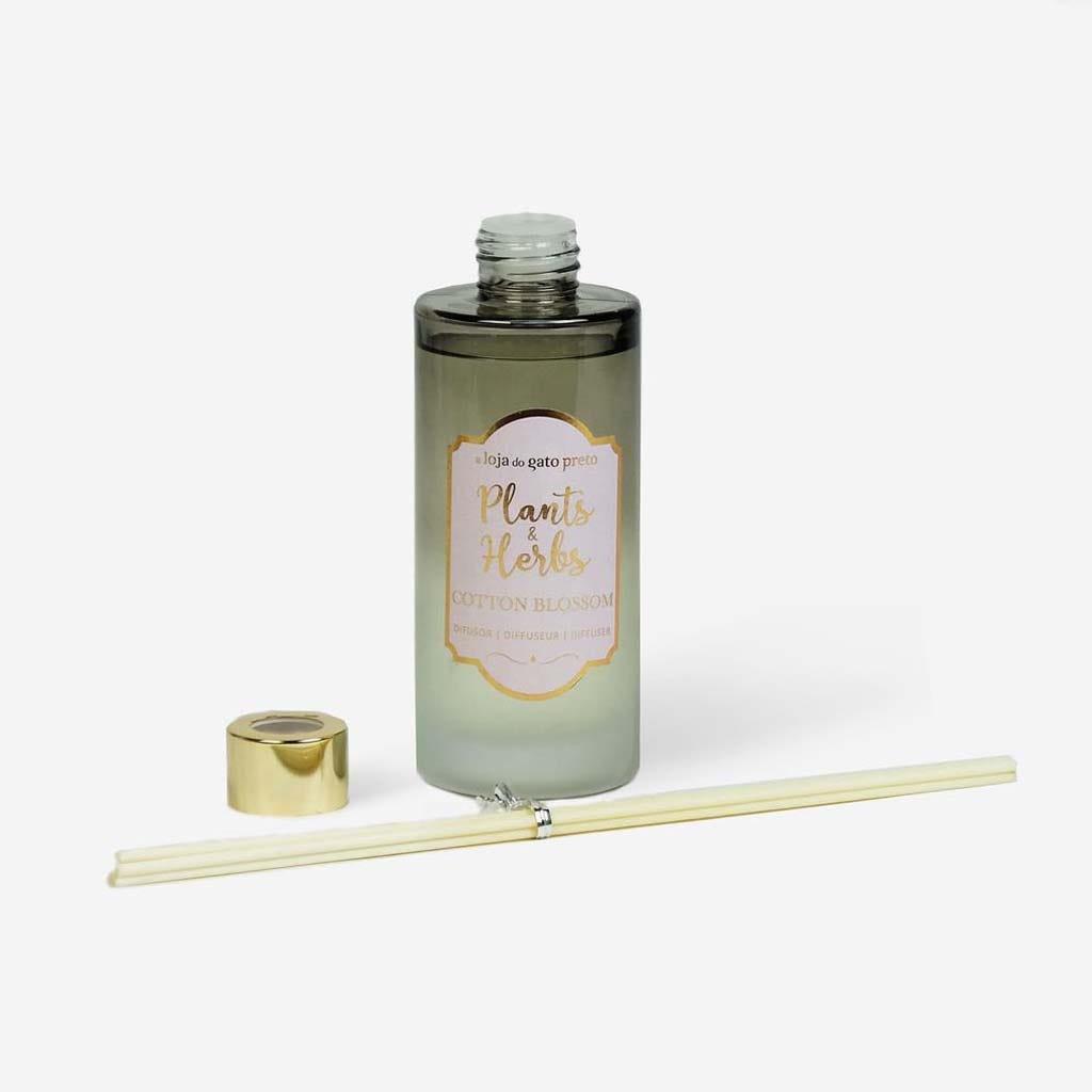 Difusor Plant&Herbs Cotton 180 ml
