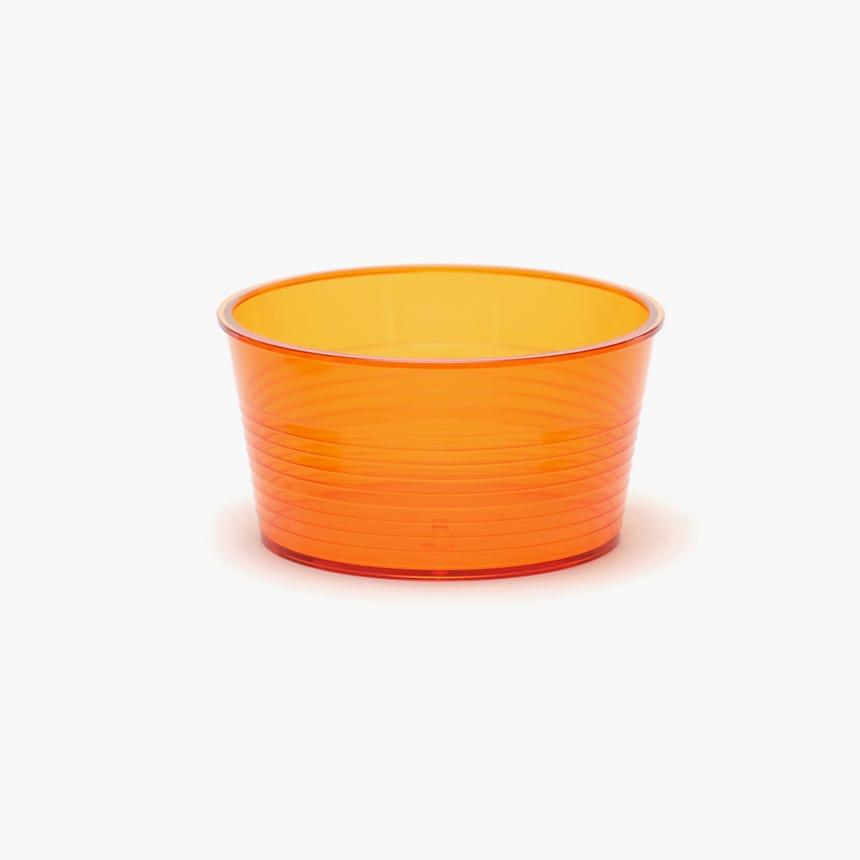 Taça acrílico Neon Laranja