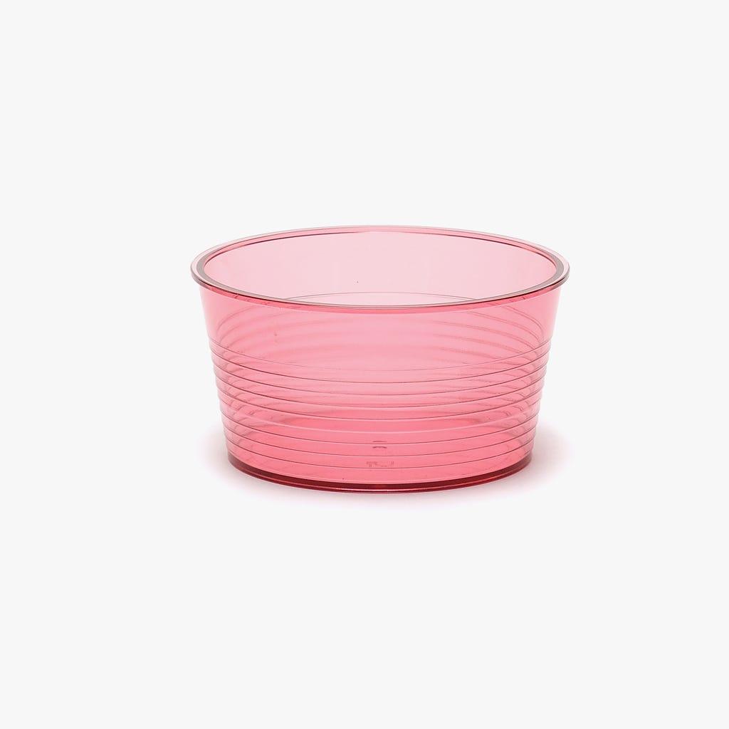 Taça acrílico Neon Rosa