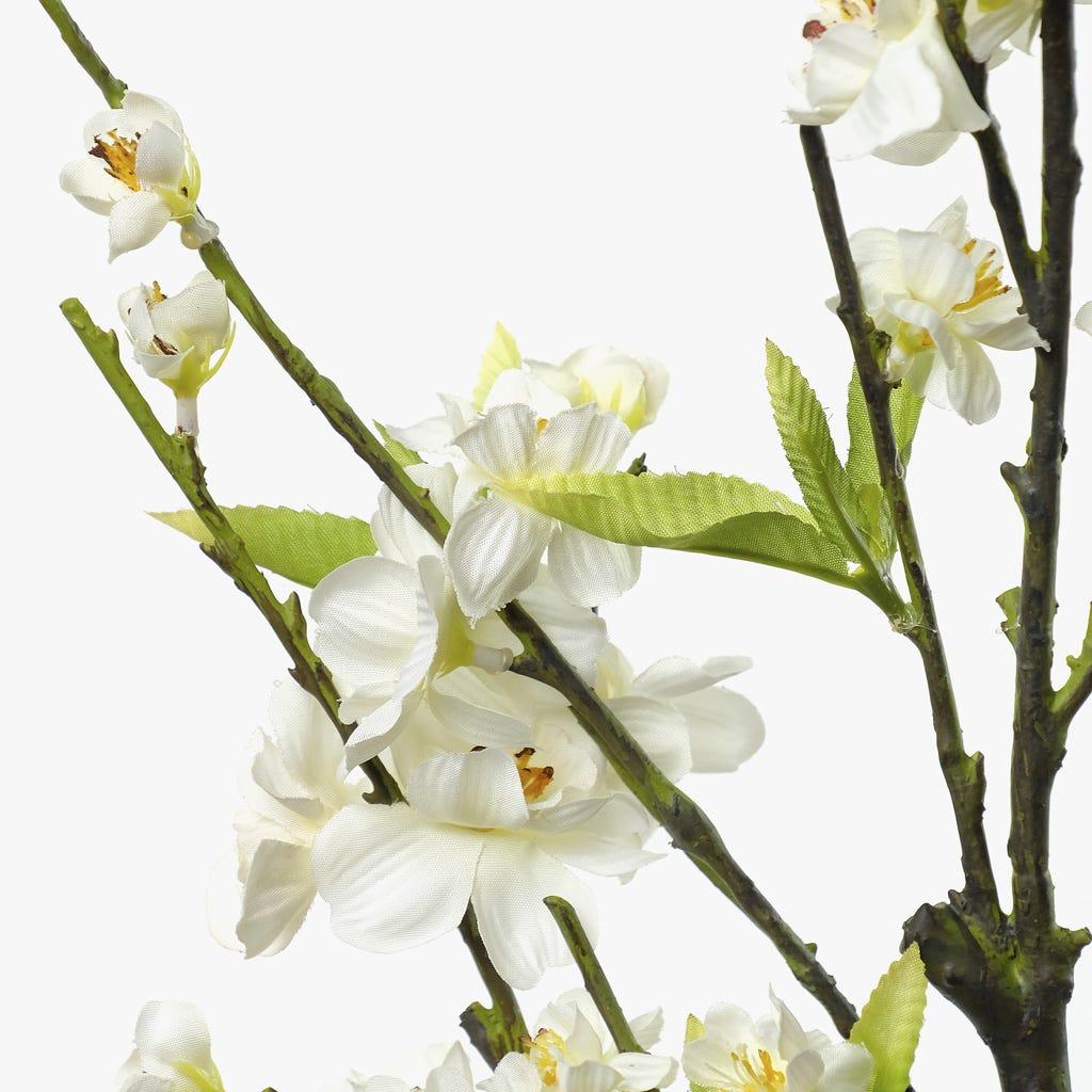Flor de Pessegueiro Branca 106,5 cm