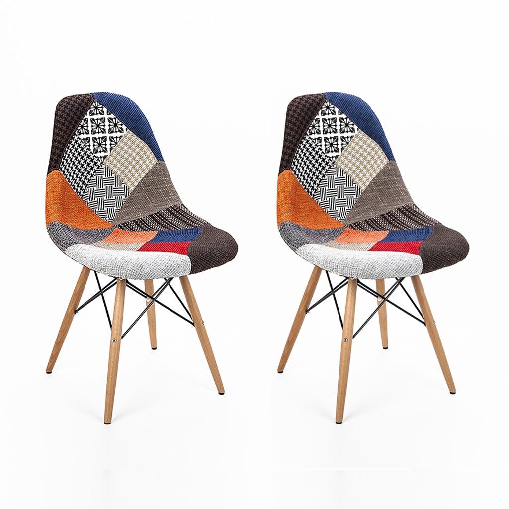 Cadeira Reiquejavique Patchwork (conjunto2)