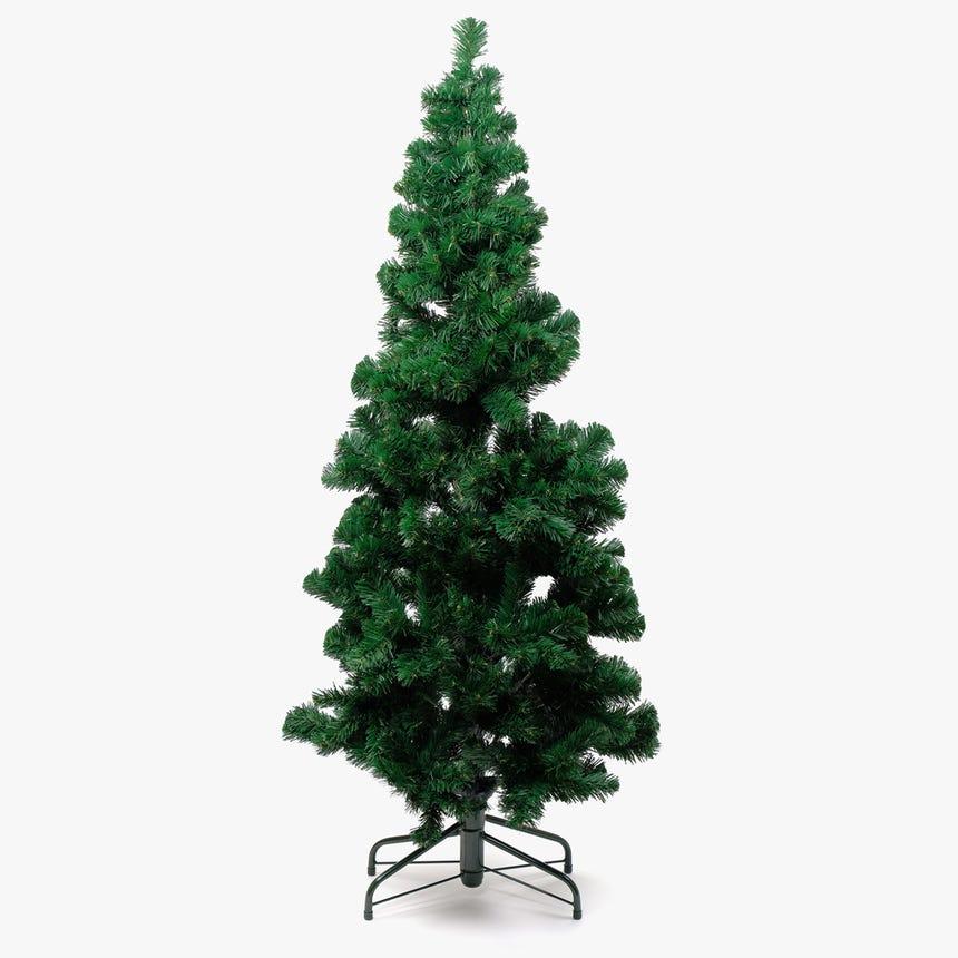 Árvore de Natal Slim Verde 150 cm