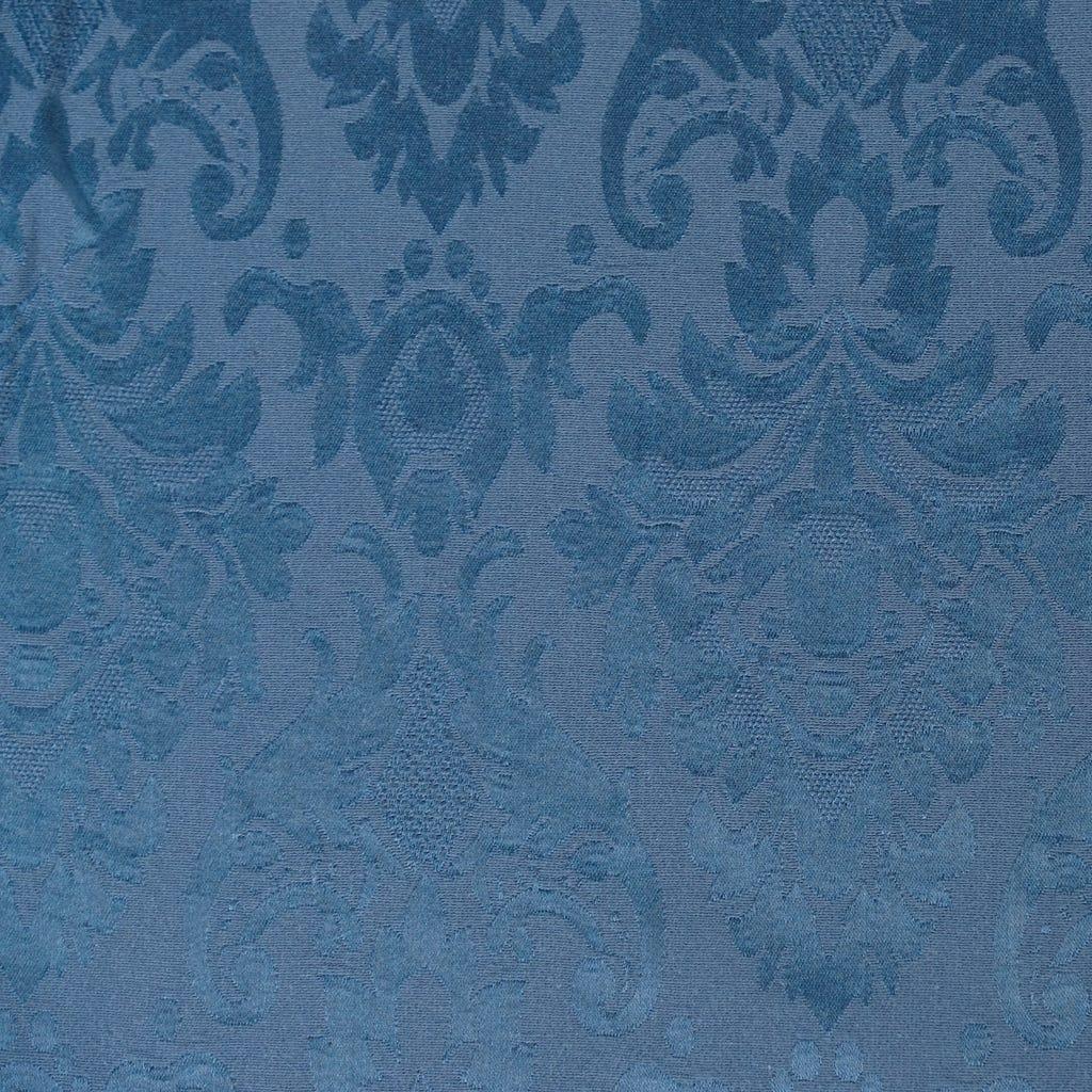 Toalha de Mesa Medalhão Azul 160x160 cm