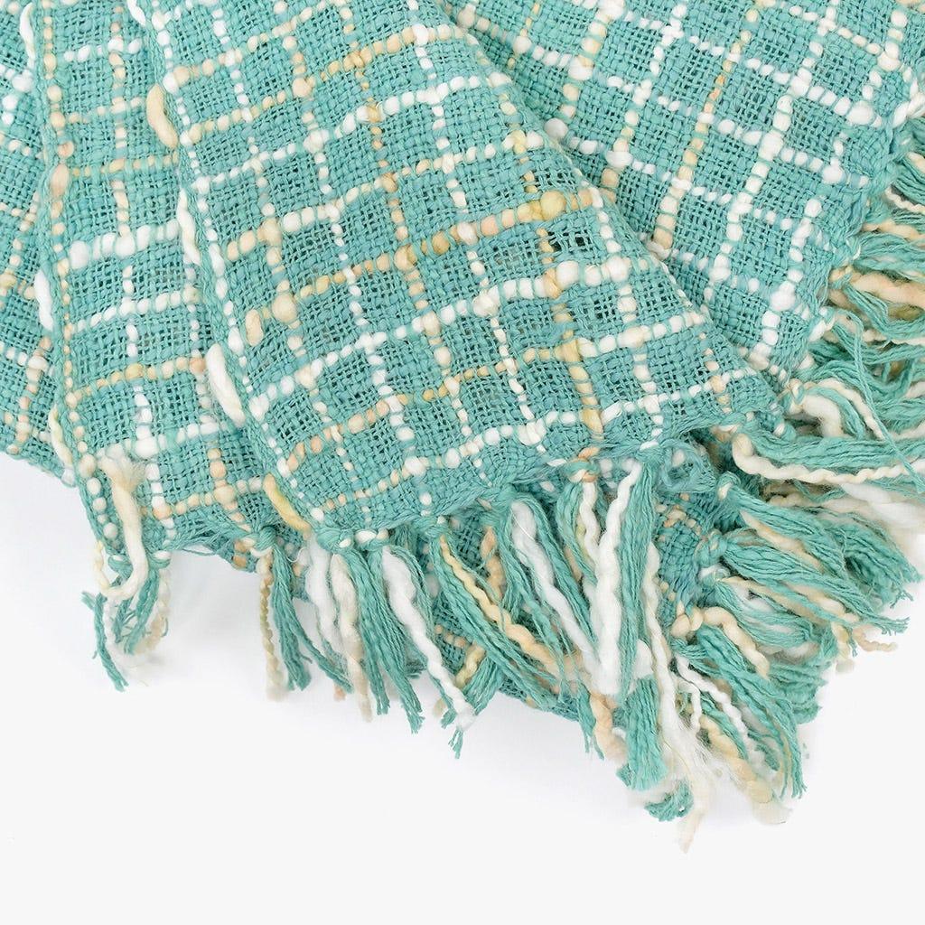 Manta Mescla Verde 125x150 cm