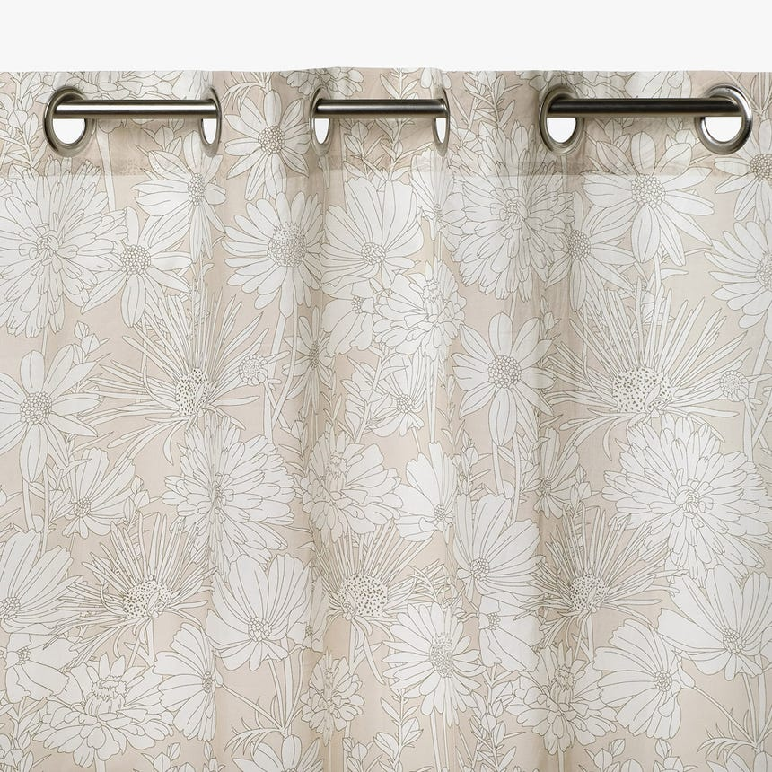 Cortinado Juliet Natural 140x270 cm