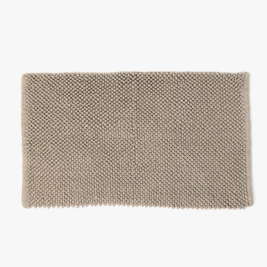 Tapete de Banho Pompom Bege 50x80 cm