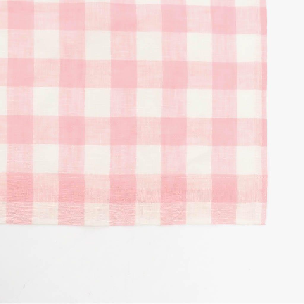Cortinado Vichy Rosa 140x270 cm