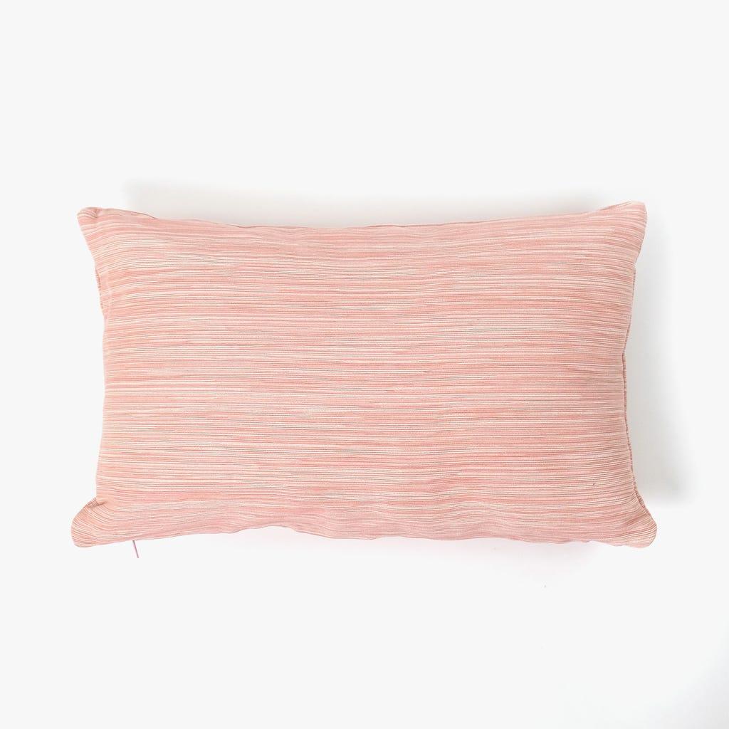 Almofada Rosa Velho e Natural 28x45 cm