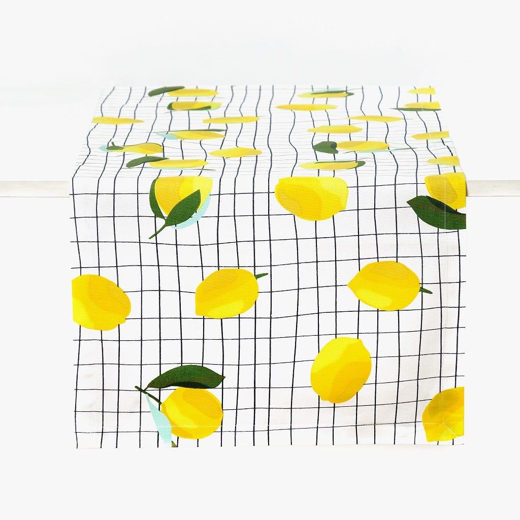 Runner Limões 45x150 cm