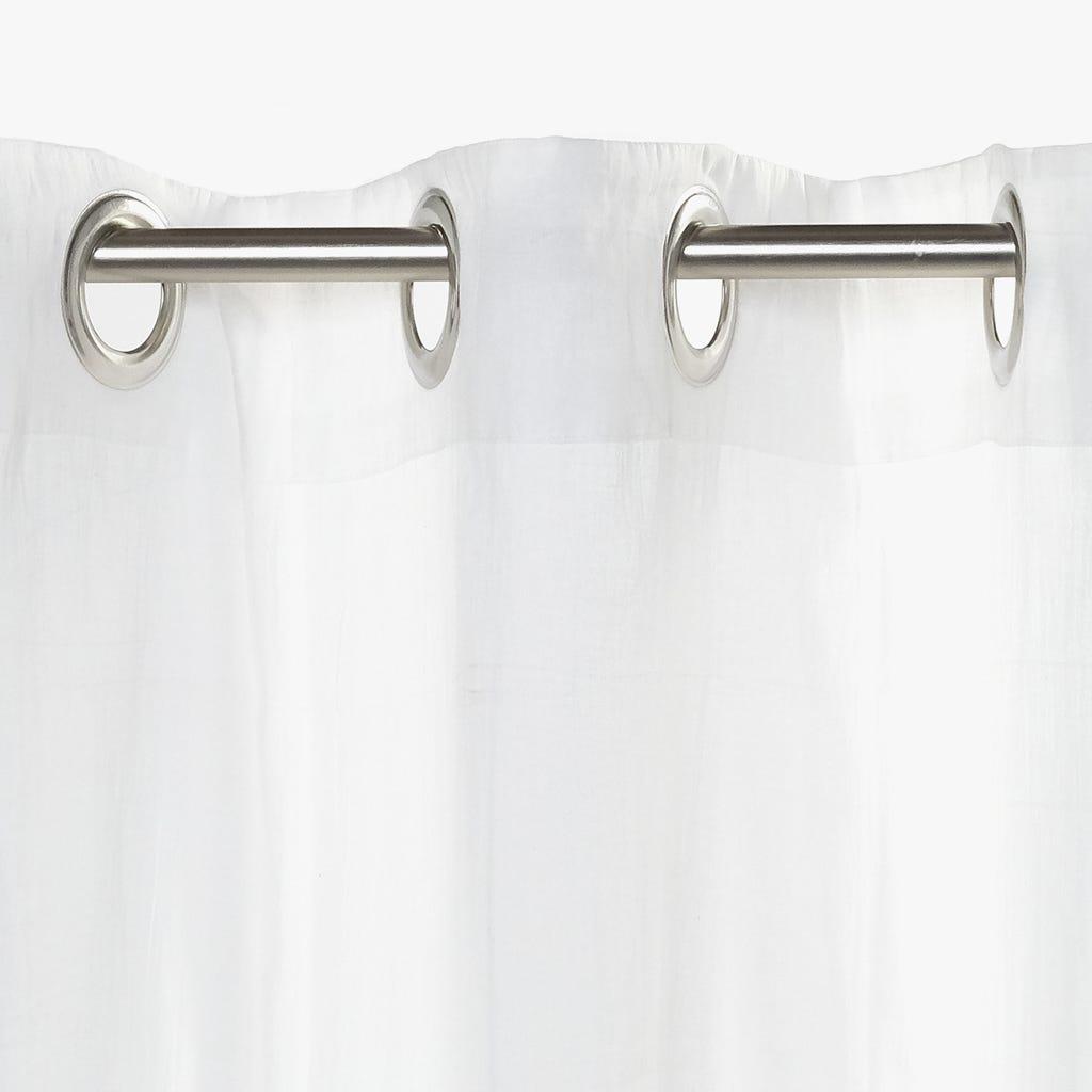 Cortinado Folha Transparente 140x270 cm