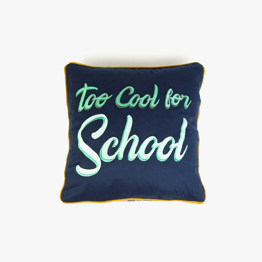 Capa de Almofada Too cool for school 45x45 cm