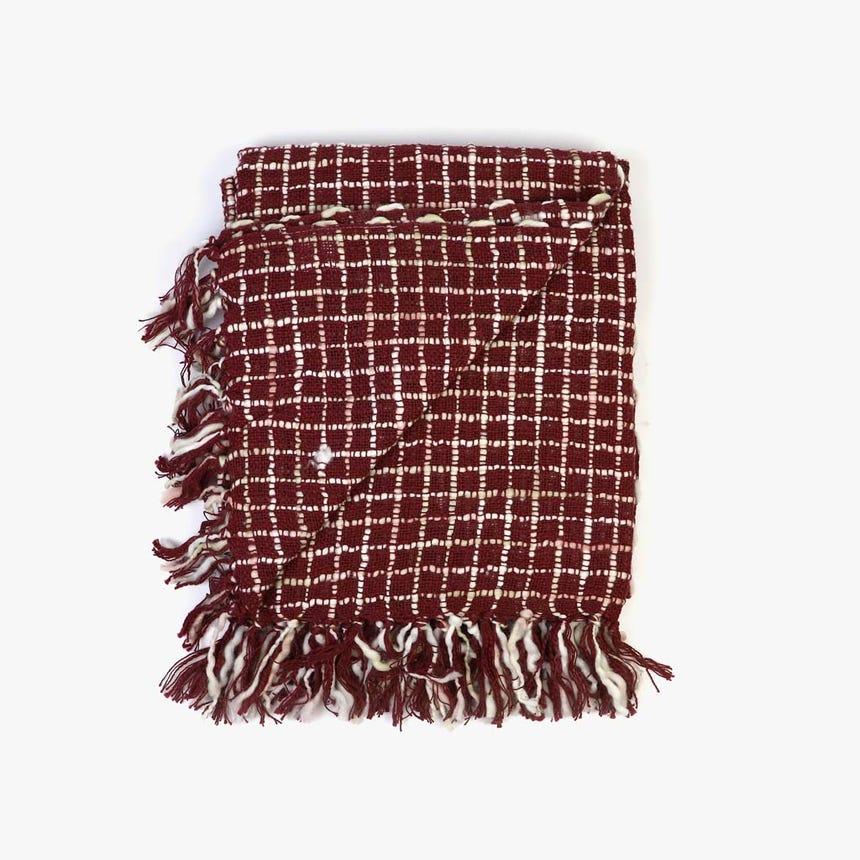 Manta Burgundy 125x150 cm
