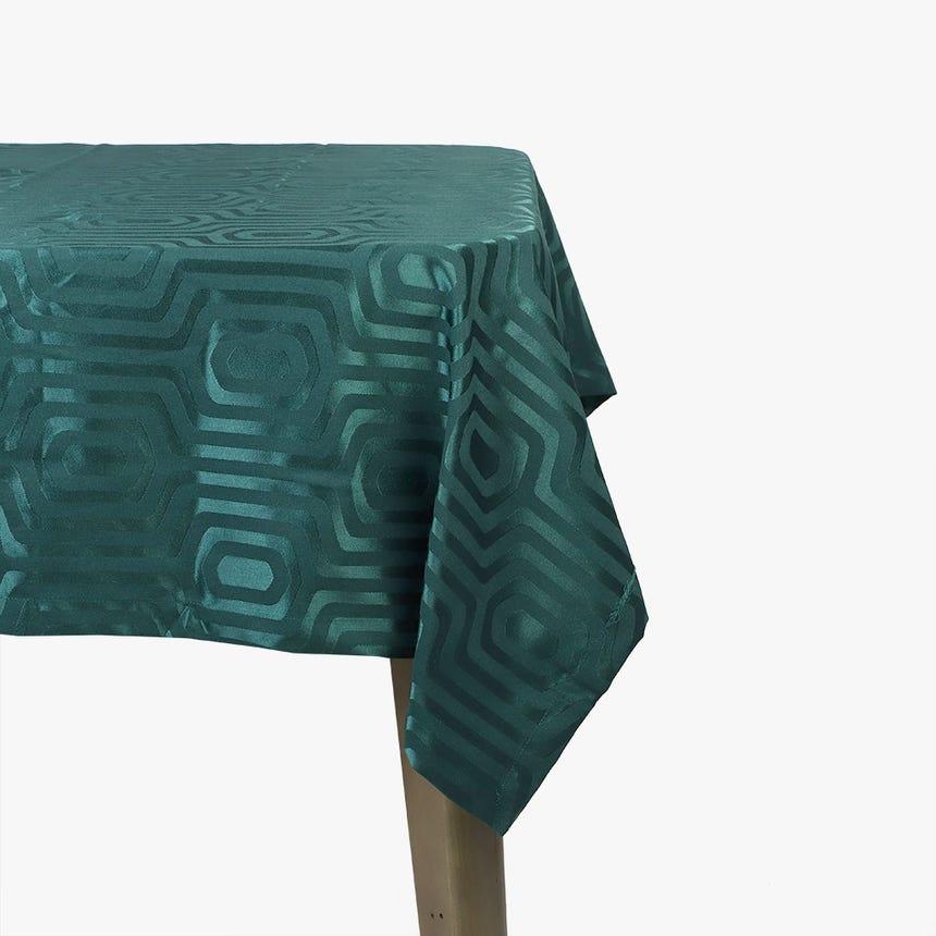 Toalha de mesa Trellis Verde 160x160 cm