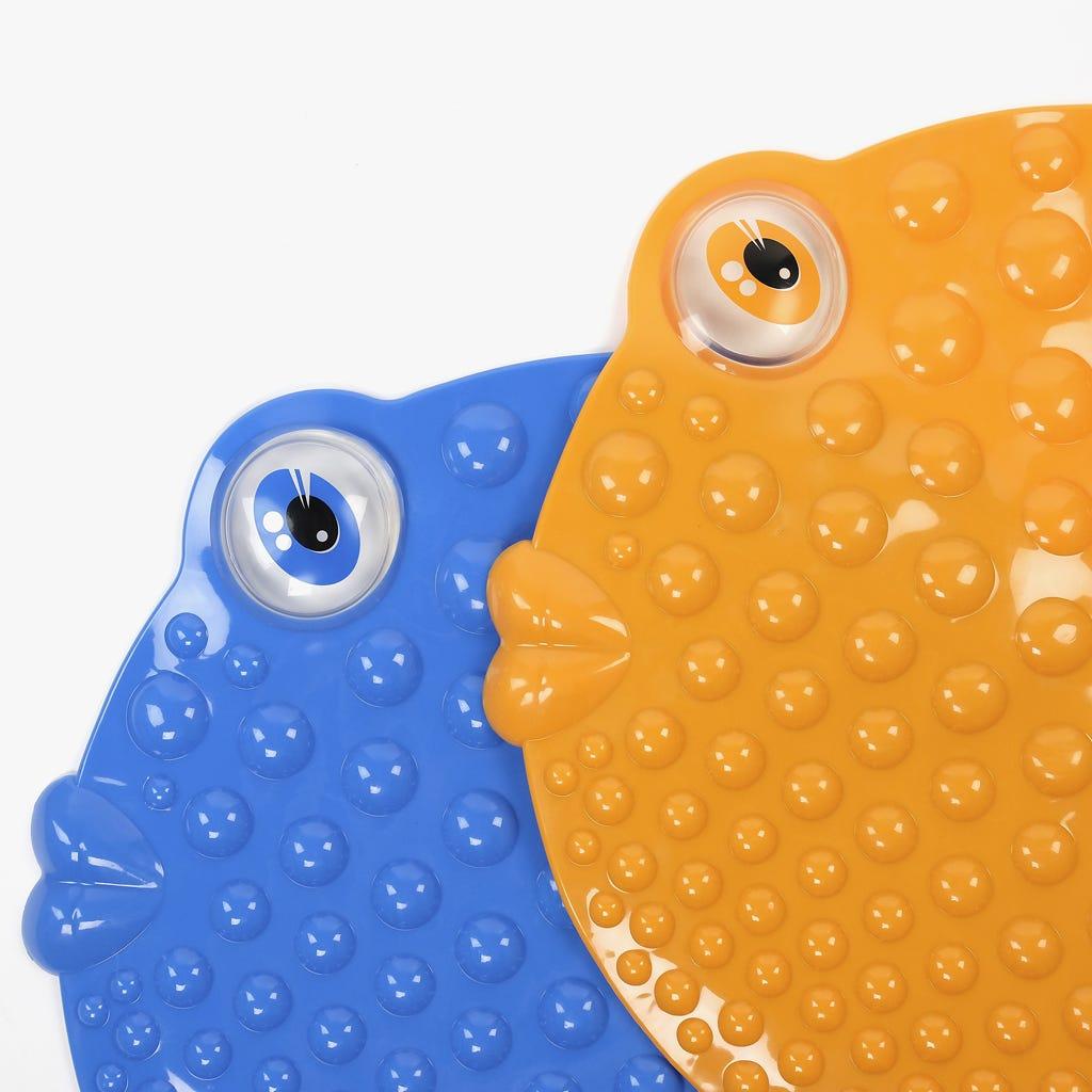 Tapete de Banho Peixe Azul