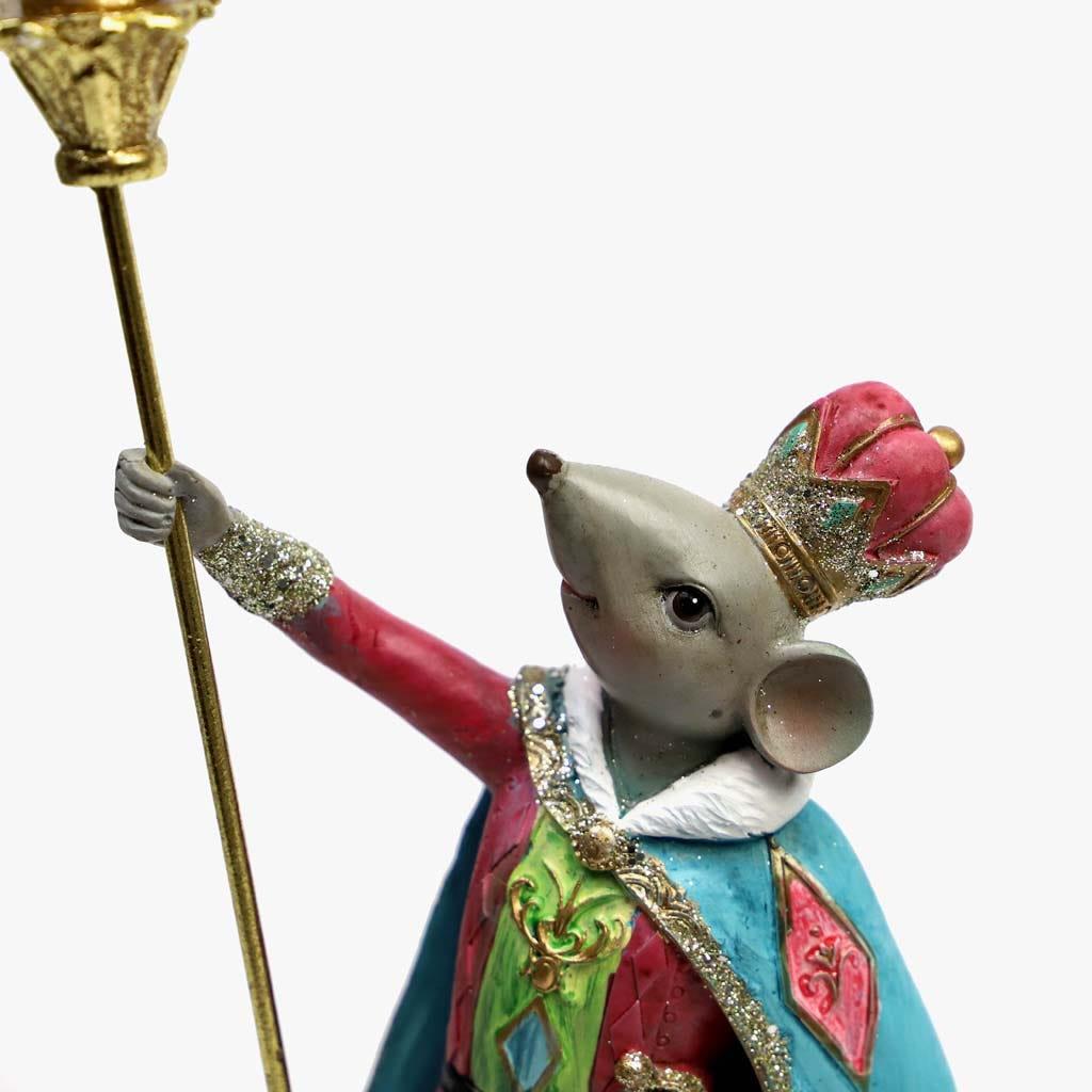 Rei Rato 14x12x34 cm
