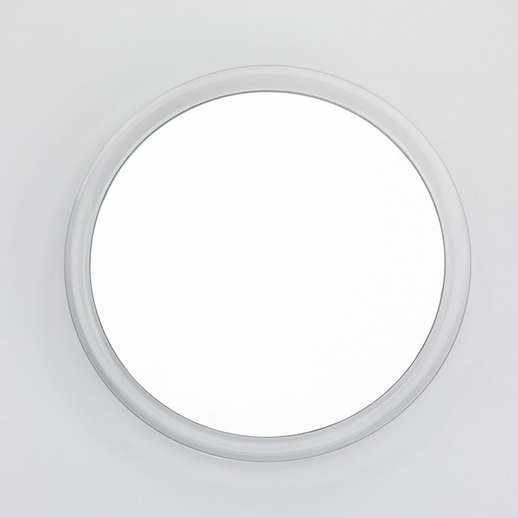 Espelho Acrílico com Ventosa e Ampliação 3x
