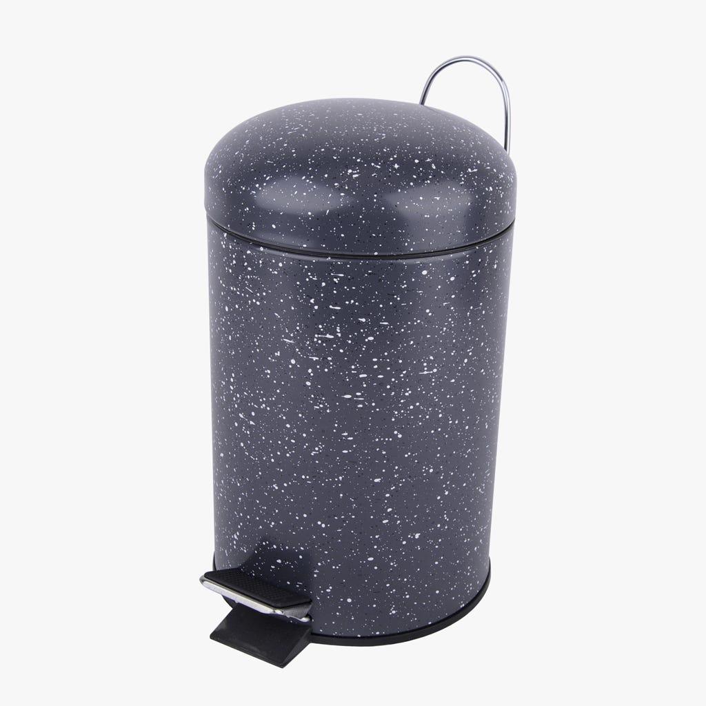 Caixote do Lixo 3L Paracas Preto