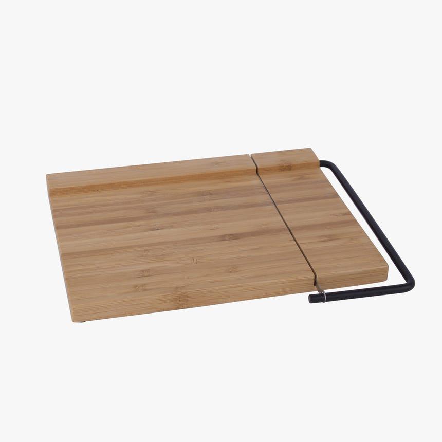 Tábua de queijos Bambu com lâmina