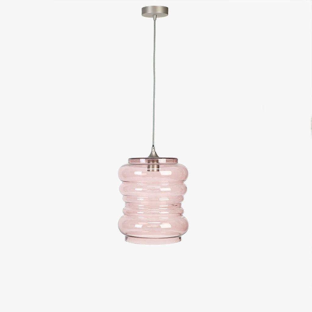 Candeeiro de teto Rosa 39x25 cm