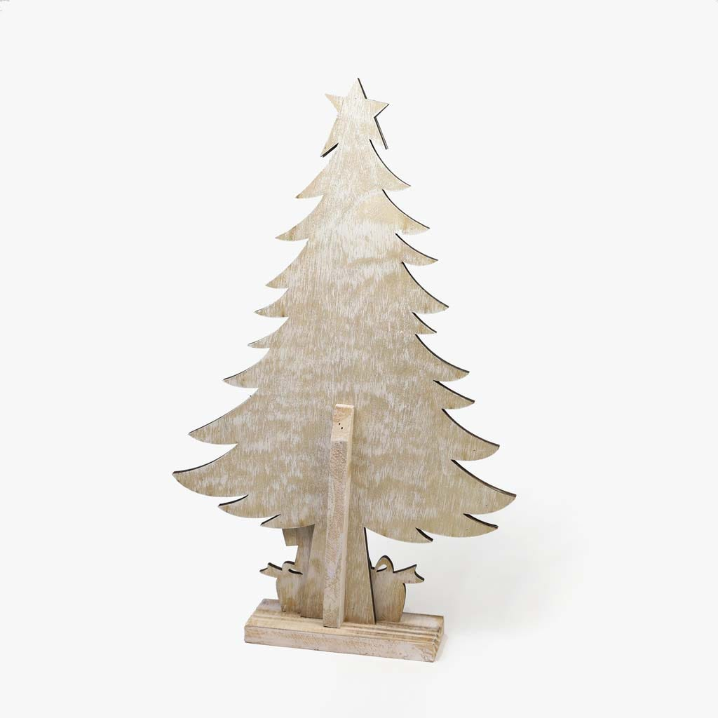 Árvore de Natal Branca 35x56 cm