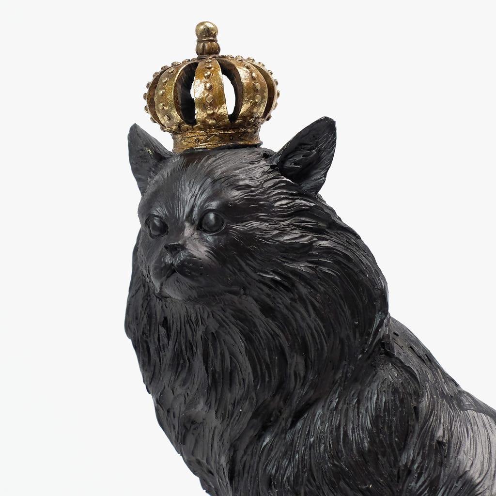 Leão com coroa 24x17x34 cm