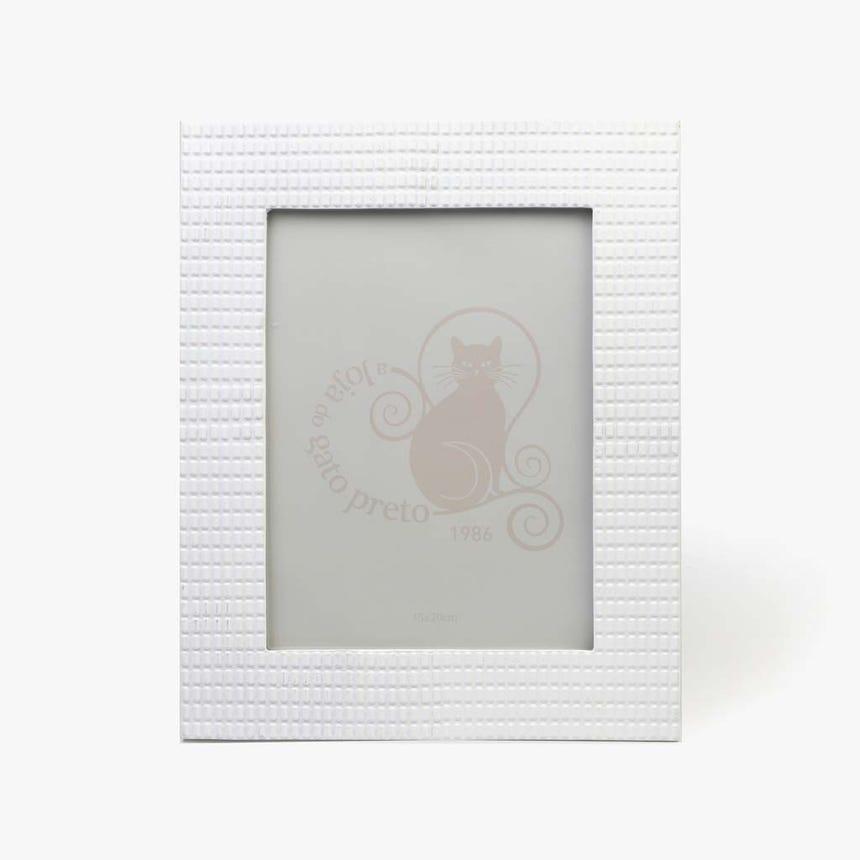 Moldura Branco 15x20 cm