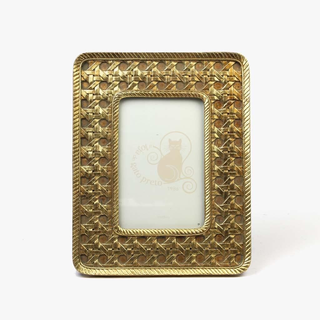 Moldura Dourado 10x15 cm