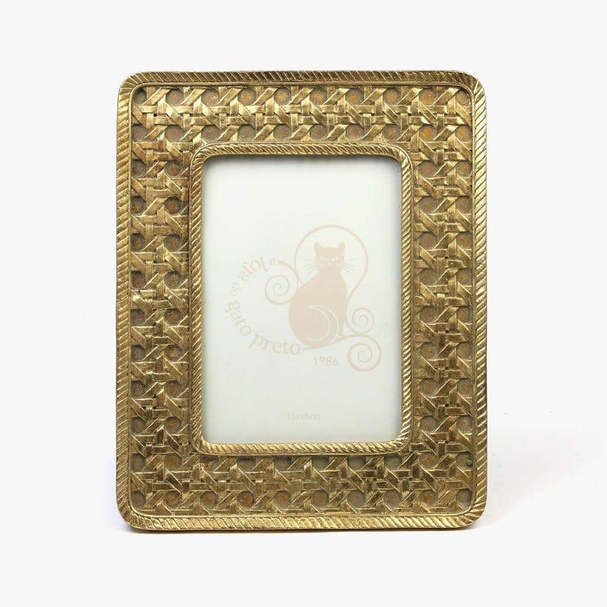 Moldura Dourado 13x18 cm