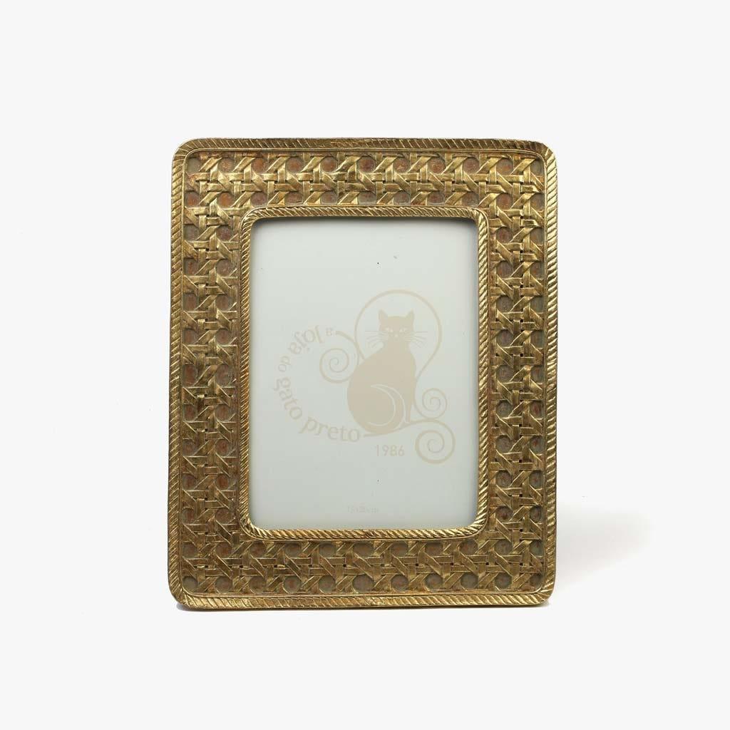 Moldura Dourado 15x20 cm