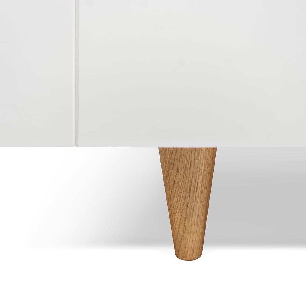 Aparador Cruz Branco 82x42x110 cm