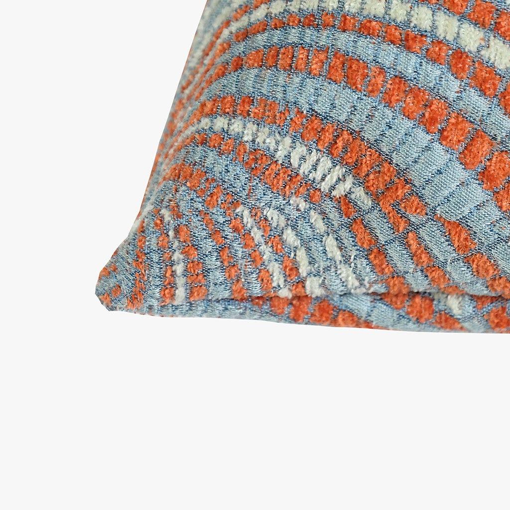 Capa de Almofada Havana Espiral Laranja 45x45 cm