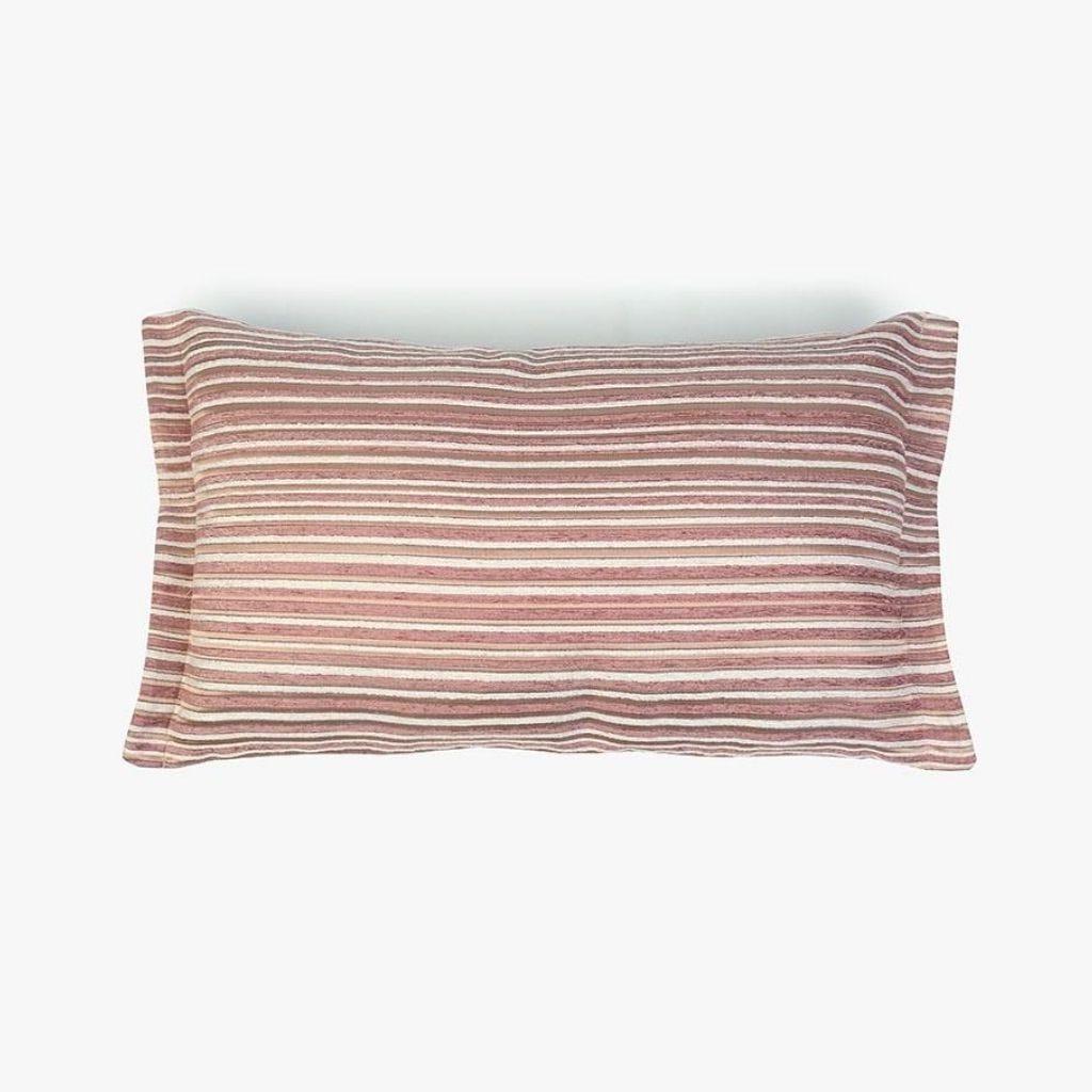 Almofada Havana Riscas Rosa 35x55 cm