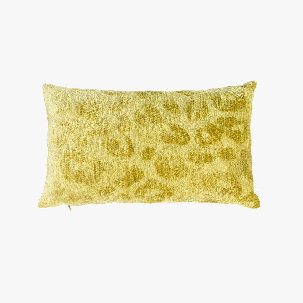 Capa de almofada Jungle fever Leopardo Amarela 30x50 cm