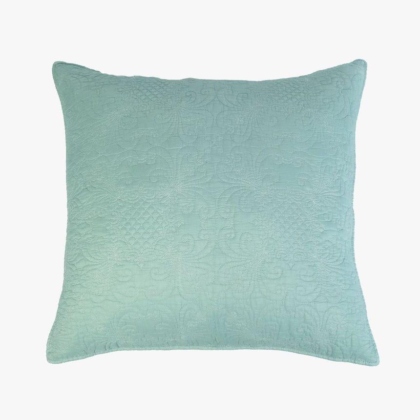 Capa de Almofada Stonewash Azul 45x45 cm