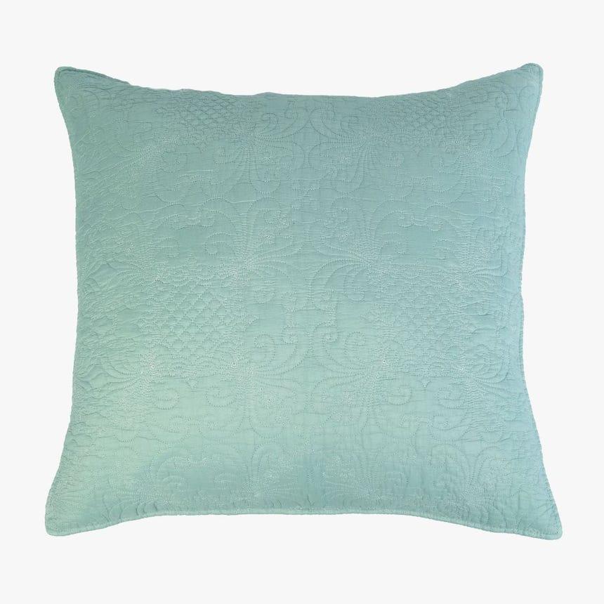Capa de Almofada Stonewash Azul 60x60 cm