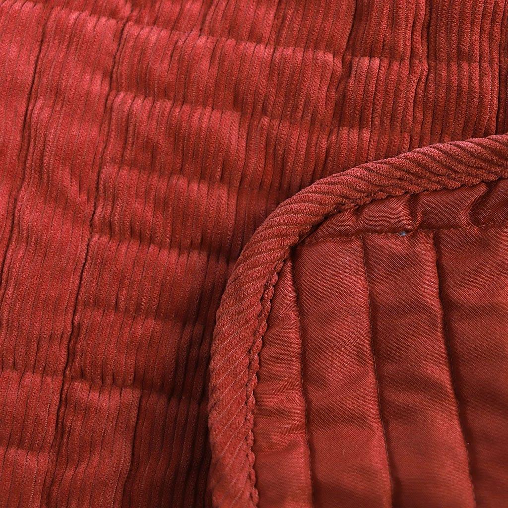 Colcha Bombazine Laranja 180x250 cm