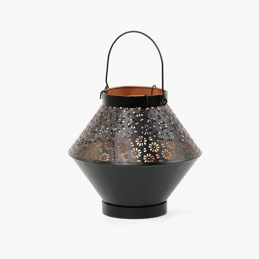Lanterna Flores 24x24x22 cm