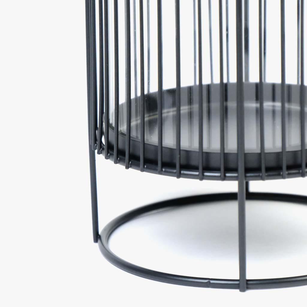 Lanterna Riga preto13x20 cm