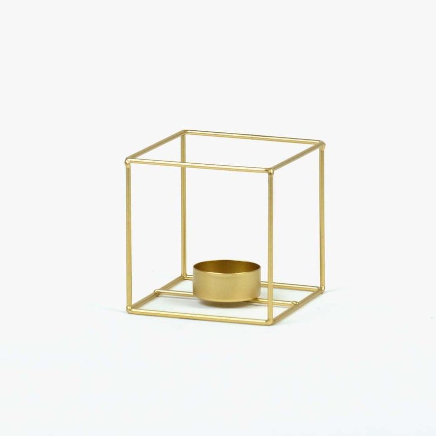 Lanterna dourado9,5 cm