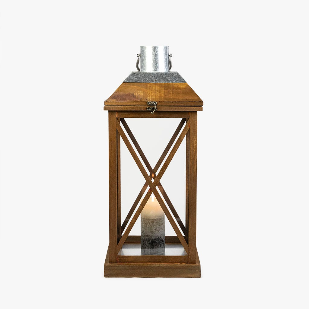 Lanterna 26x25x61 cm