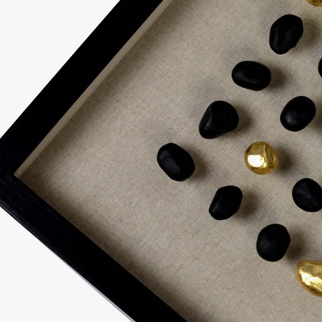 Quadro Pedras Azuis 80x80 cm