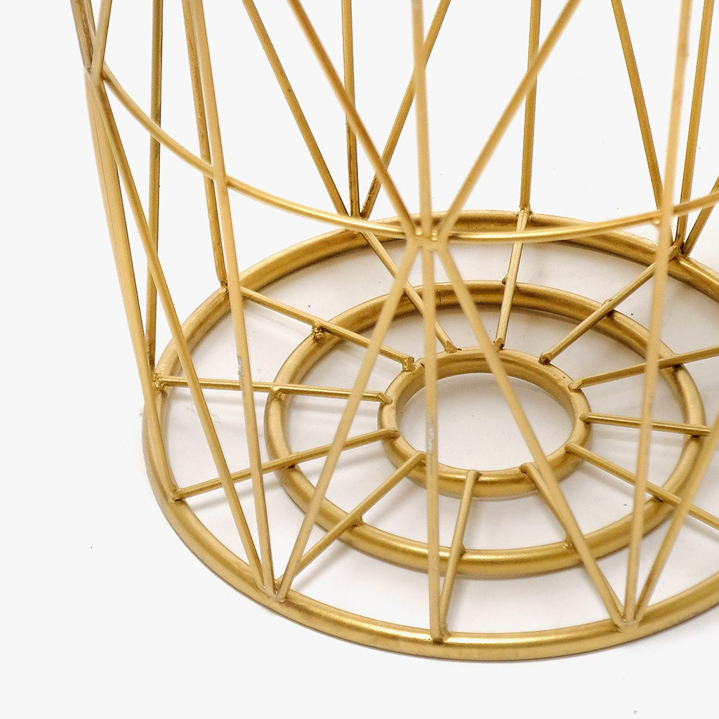 Mesas Mãe Geométrica Estrela Ouro